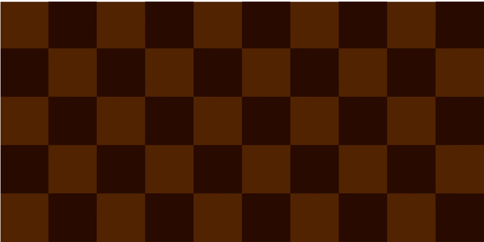 Checkered pattern cocoa brown