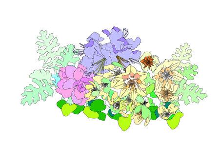 Arrangement of flowers