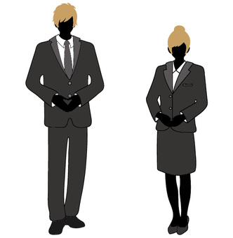 Suit male and female 2