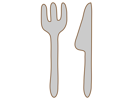 Knives and forks