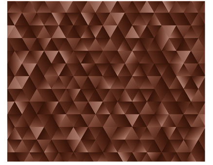 Brown geometric pattern