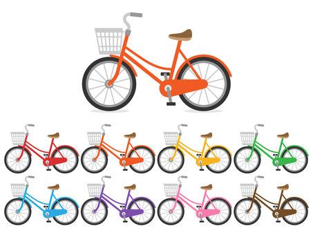 自転車_カゴ付き