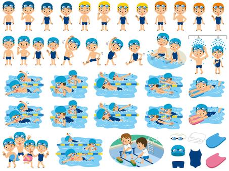 小学生のプール