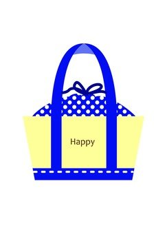 Lunch bag (blue)