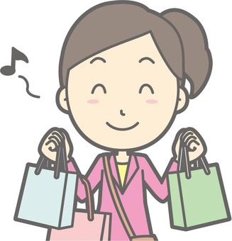女旅遊青年a  - 購物 - 胸圍