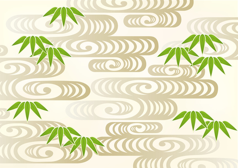 New Year Pattern Bamboo 1