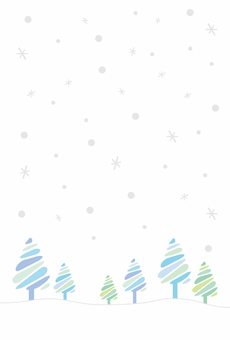 Snow scene image