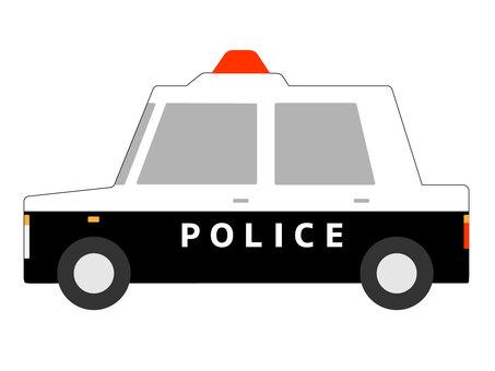 Patrol car modified version