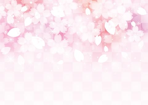 벚꽃 배경 소재 46