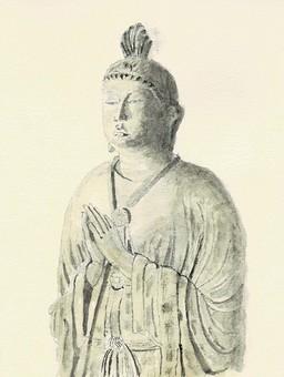 東大寺月光菩薩