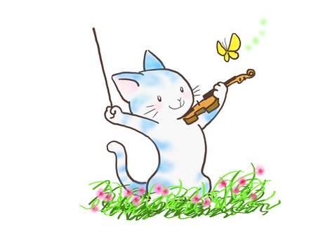 バイオリンねこ47