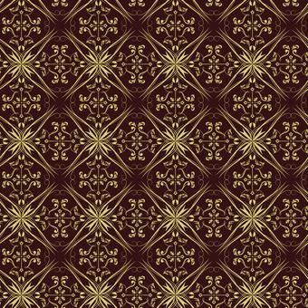 ダマスク織パターン5