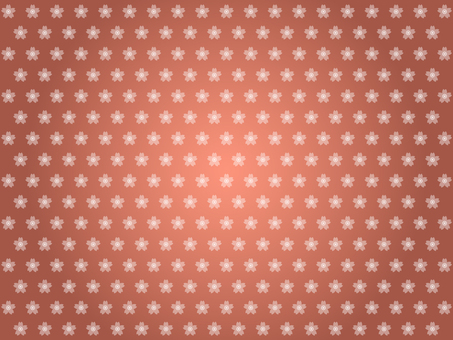 Cherry blossom pattern background (Copper)