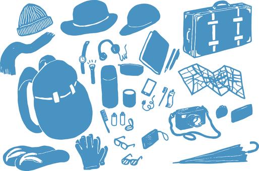 Travel Goods Blue
