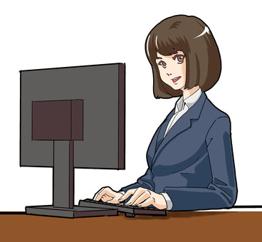 Women and computer