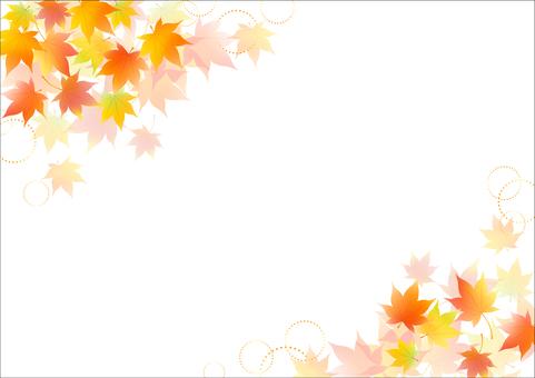 Fall image material 2