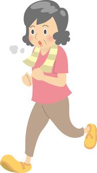 Aunt / Jogging