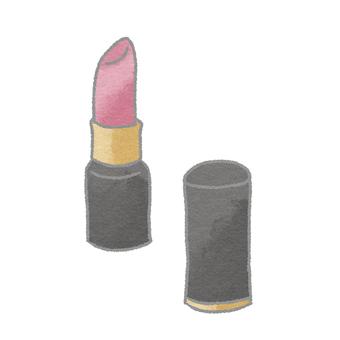 Cosmetics _ lipstick (pink type)