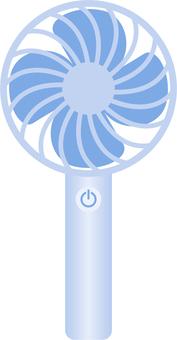 Handy fan_01_blue