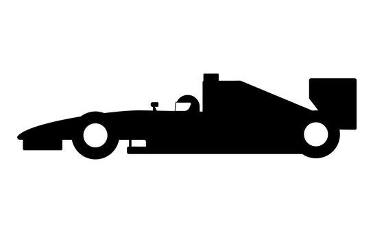 F1 Silhouette