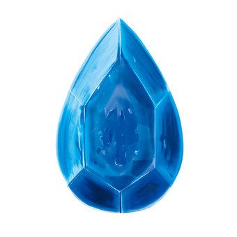 宝石雫型(青)