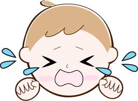 泣く・顔・赤ちゃん