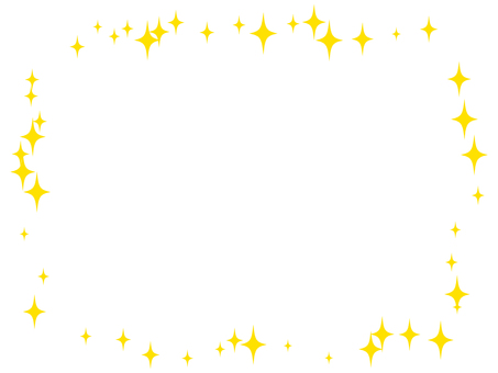 Glitter - Square frame 01