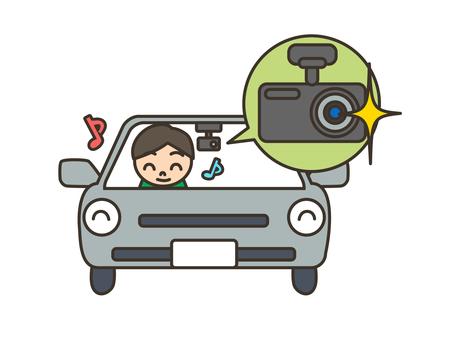 自動車_ドライブレコーダー_ドラレコ