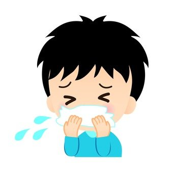 Sneezing boys