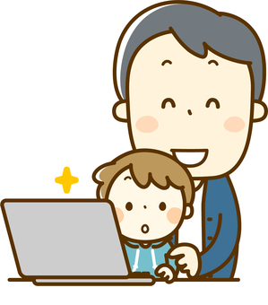 Parent and child computer