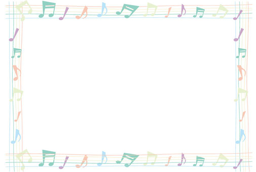 Frame of a note