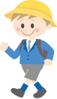 Elementary school boy 4