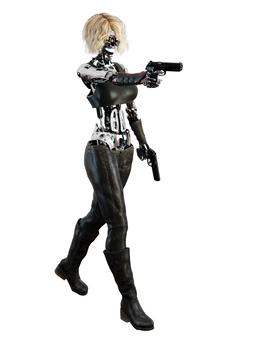 ロボット スパイ ガール
