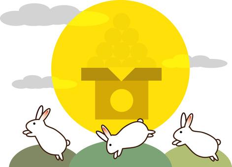 Moon 08 (Bouncing Rabbit)