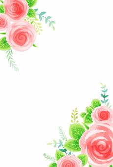 Rose background 001