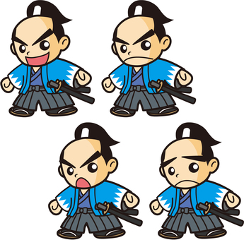 侍キャラクター(新選組隊士風)