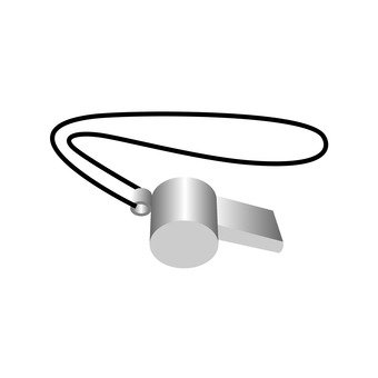Mountaineering Supplies - Whistle (Silver)