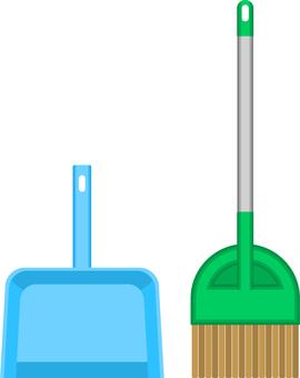 掃帚和簸箕