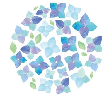 Watercolor hydrangea 7