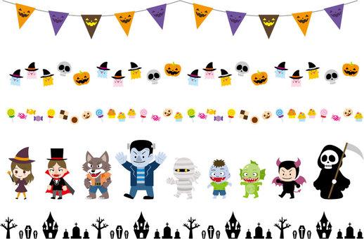 Line Halloween