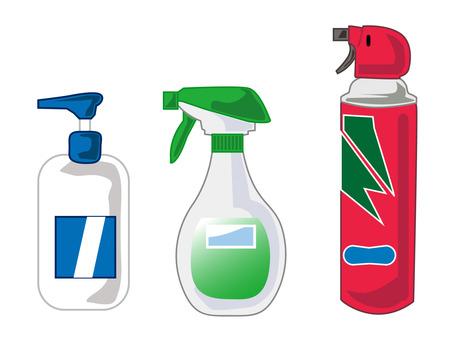 Spray set
