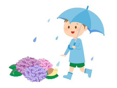 비와 아이