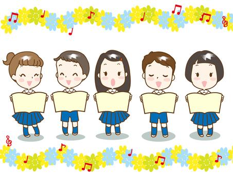 合唱歌曲(唱歌的孩子)