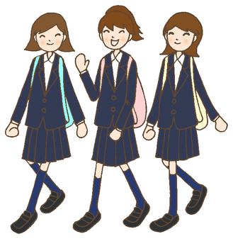 Girls Teenagers Blazer