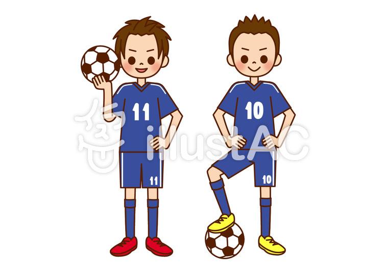 将来の夢 サッカー選手イラスト No 1160935無料イラストなら