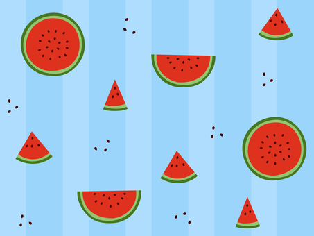 Watermelon Wallpaper 03 (with background / seamless)