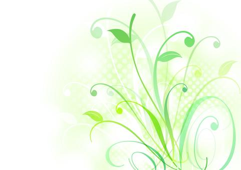 Fresh green material 34