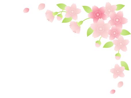 Cherry tree frame Ⅳ