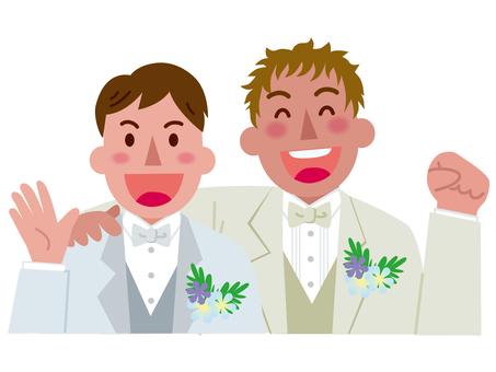 Marriage between men -1