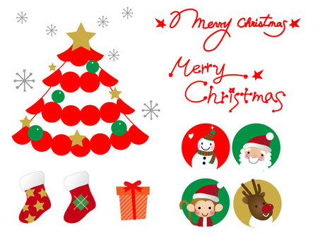 Christmas material 1